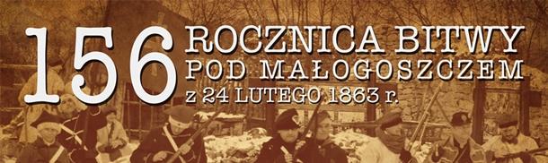 156. rocznica bitwy pod Małogoszczem pod patronatem MWP