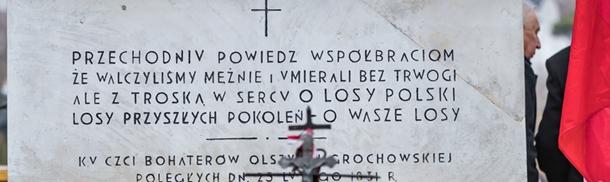 188. rocznica bitwy pod Olszynką Grochowską