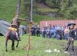 4. Dzień Szabli - Pokaz musztry konnej oraz posługiwania się szablą i lancą