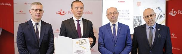 Album Poczty Polskiej we współpracy z Muzeum Wojska Polskiego