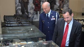 Ambasador Stanów Zjednoczonych w Muzeum Wojska Polskiego