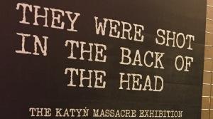 Otwarcie wystawy poświęconej zbrodni katyńskiej w Łotewskim Muzeum Wojny w Rydze