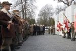 Panteon - Mauzoleum Wyklętych-Niezłomnych na Cmentarzu Wojskowym na Powązkach w Warszawie