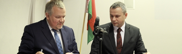 Podpisanie umowy o współpracy z Muzeum Wielkiej Wojny Ojczyźnianej w Mińsku