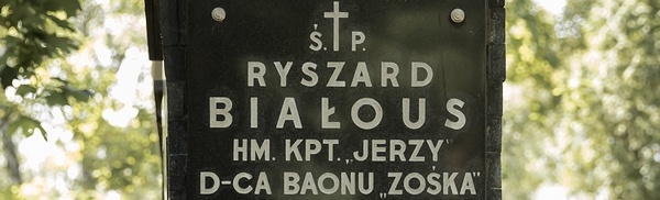 Pożegnanie kpt. Ryszarda Białousa ps. Jerzy