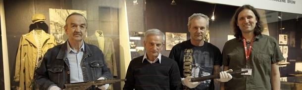 Spotkanie przy konspiracyjnym warsztacie do produkcji Stenów
