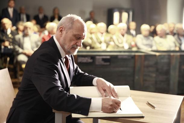 Spotkanie z ministrem A. Macierewiczem w Muzeum Katyńskim