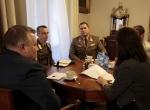 Spotkanie z płk. Vilmosem Kovacsem, dyrektorem Muzeum Wojska w Budapeszcie