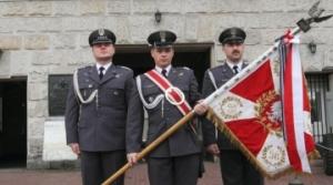 Sztandar 36 Specjalnego Pułku Transportowego w Muzeum Wojska Polskiego