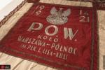 Sztandar pozyskany dzięki wsparciu KGHM Polska Miedź