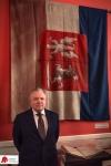 """Sztandar z MWP na wystawie """"550-lecie Polskiego Parlamentaryzmu"""""""