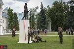 Uroczyste odsłonięcie pomnika generała dywizji Tadeusza Kutrzeby w Akademii Sztuki Wojennej