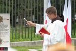 Uroczyste odsłonięcie tablicy na terenie Warszawskiego Towarzystwa Wioślarskiego