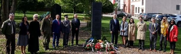 Uroczystość przy Pomniku Lotników 22 września 2021 r.