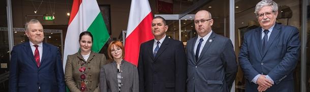 Wizyta węgierskiej delegacji w Muzeum Wojska Polskiego