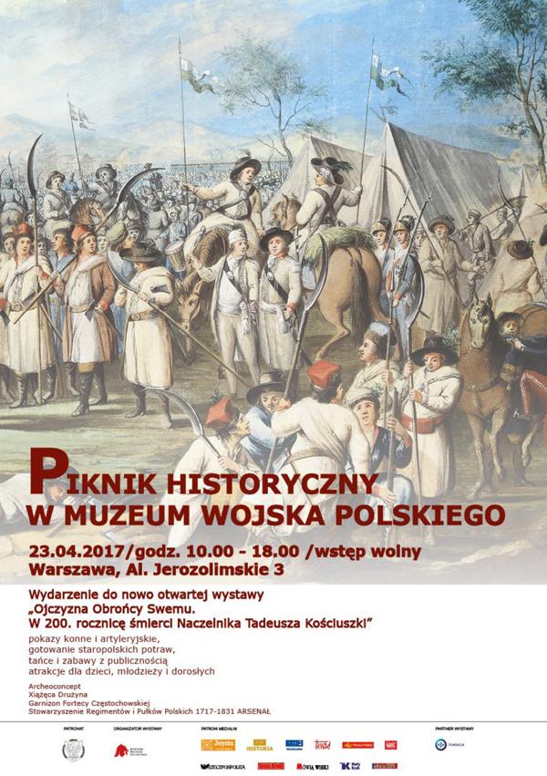 ZAPRASZAMY NA PIKNIK HISTORYCZNY W MUZEUM WOJSKA POLSKIEGO