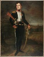"""Obraz, """"Portret Antoniego Sułkowskiego"""", Ruschke (1807 r.)."""