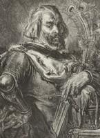 Drzeworyt, Mieszko III Stary' według Jana Matejki; błędnie nazwany Mieczysławem III Starym (XIX w.).