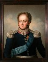 "Obraz, ""Portret cesarza Aleksandra I"", autor nn (po 1815 r.)."
