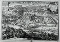"""Miedzioryt """"Trembowla, 1675 r."""", Hooghe de Romeyn (XVII w.)."""