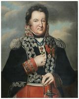 """Obraz """"Portret gen. Jana Henryka D�browskiego"""", autor nn (ok.1810 r.)."""