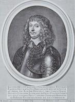 Reprodukcja miedziorytu, Bogusław Radziwiłł, autor nn (po 1654 r.).