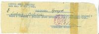 Przepustka wystawiona przez Komendę Północno - Wschodnią Sił Zbrojnych w kraju dla żołnierza Armii Krajowej Ludwika Bilińskiego. Lwów, 26 lipca 1944 r.