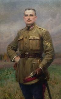 """Obraz,""""P�k Boles�aw Mo�cicki"""", Konstanty G�rski (1917 r.)."""