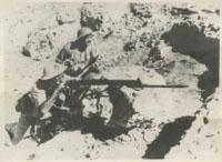 Fotografia, Żołnierze Samodzielnej Brygady Strzelców Karpackich w obronie Tobruku (II poł. 1941 r.).