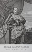 Jerzy, Prince Lubomirski, Great Marshal of the Crown, Field Hetman of the Crown, copperplate by Ksawery Prek and Antoni Tepplar (17th century)