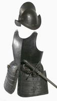 Western-European pikesman's armour, mid-17th century