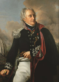 Portrait of General Karol Kniaziewicz, painting, author unknown (early 19th century)