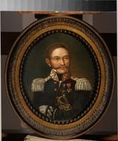 """Obraz, """"Portret gen. Henryka Dembińskiego"""", autor nn (XIX w.)."""