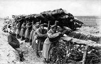 Foografia, Żołnierze I Brygady Legionów w okopach w latach 1914- 1917.