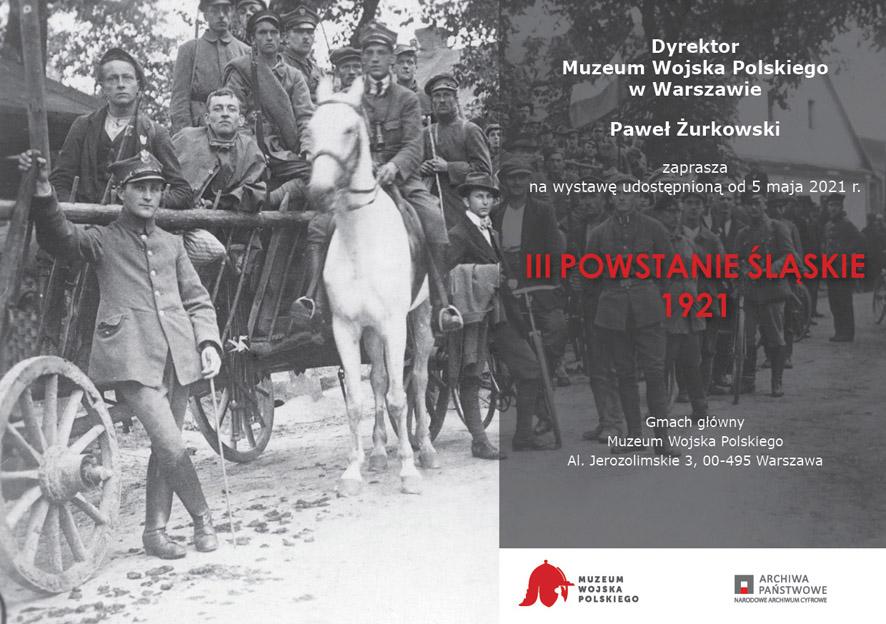 III Powstanie Śląskie 1921 - Zaproszenie