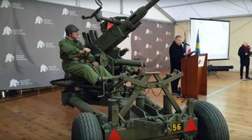 Polska armata przeciwlotnicza systemu Bofors z czasów II wojny światowej wraca do kraju – do MWP