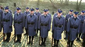 Uroczyste �lubowanie policjant�w w Muzeum Katy�skim